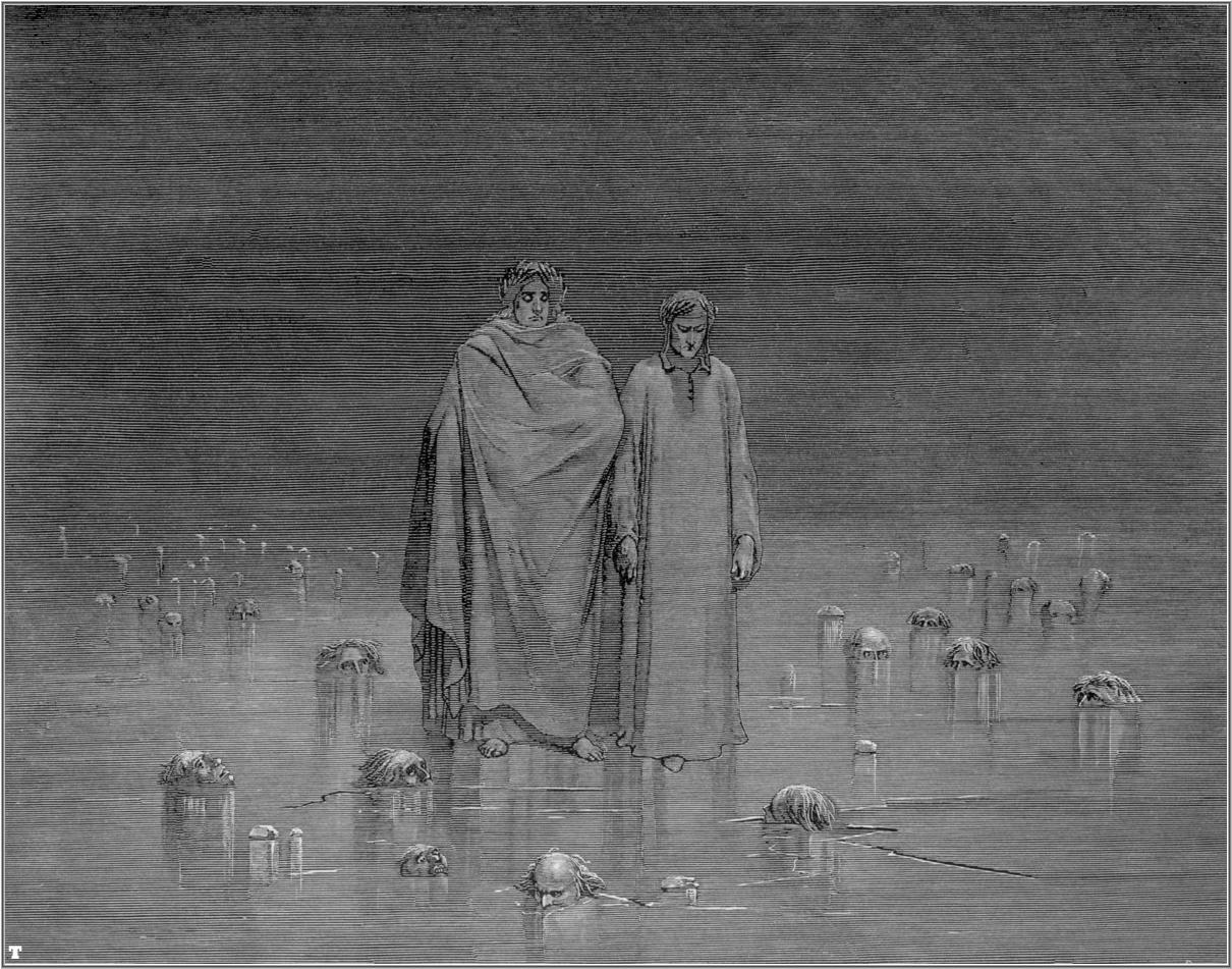 Virgil Dantes Inferno Pity and Indign...